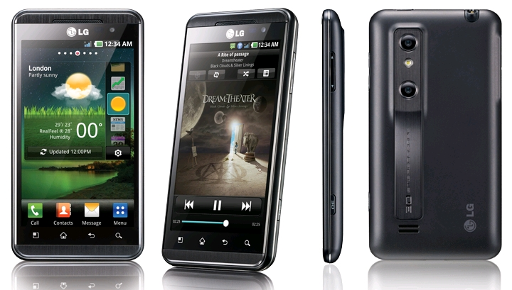 Ремонт мобильного телефона LG Optimus 3D (P920)