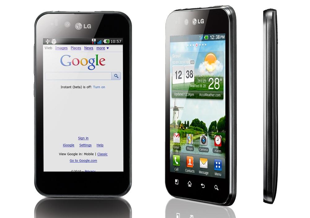 Ремонт мобильного телефона LG Optimus Black (Р970)