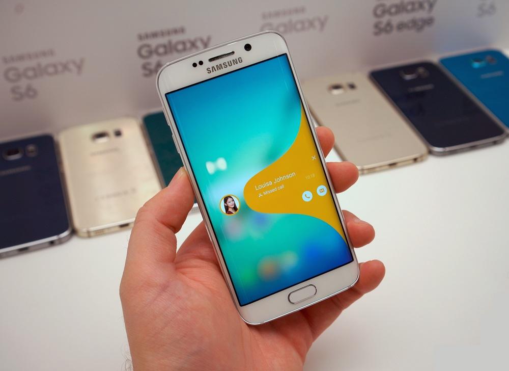 Ремонт мобильного телефона Samsung Galaxy S6 edge